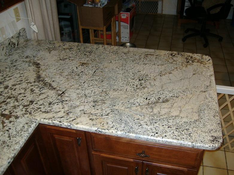 Colonial Cream Granite Kitchen Countertop